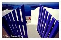 Santorini Imerovigli Blue Gates